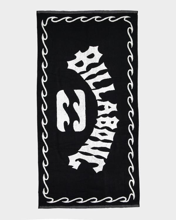 0 Arch Towel Black 9691700 Billabong