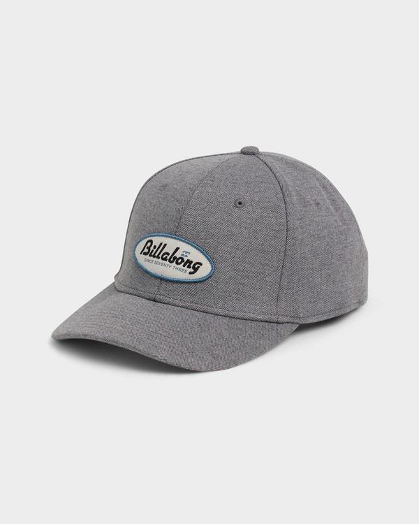 0 Walled Stretch Cap Grey 9692326 Billabong
