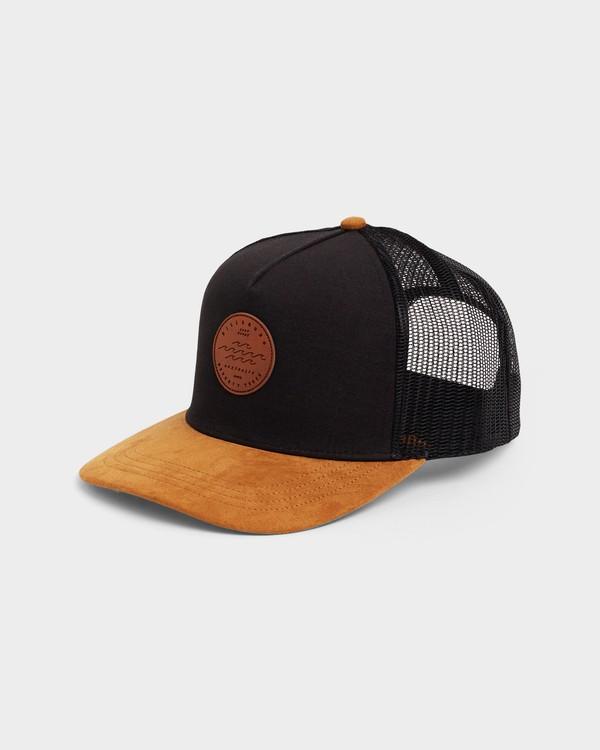 0 MIXED STACKED TRUCKER CAP Black 9692330 Billabong