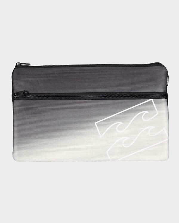 0 Jumbo Pencil Case Black 9692501 Billabong