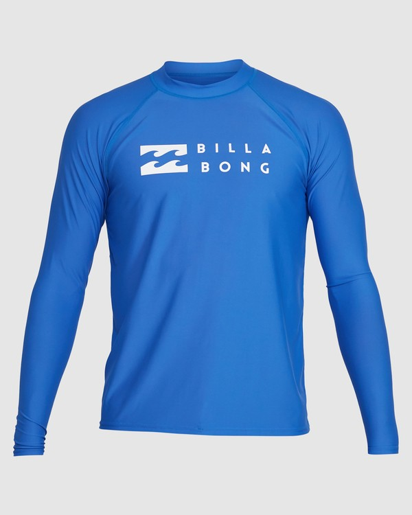 0 Union Regular Fit Long Sleeve Rash Vest Blue 9703508 Billabong