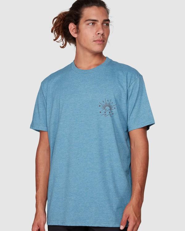 0 Directional Upf 50 Surf Tee Blue 9707510 Billabong