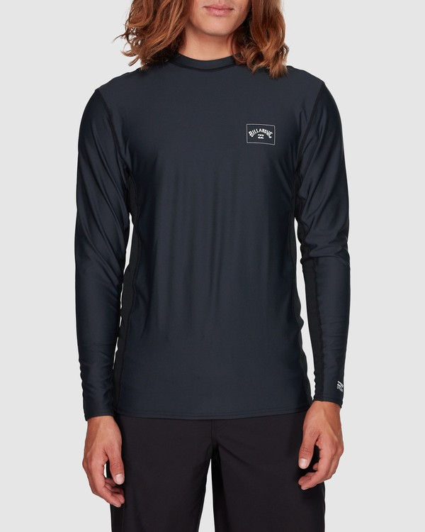 0 Banded Long Sleeve Surf Shirt Black 9707520 Billabong