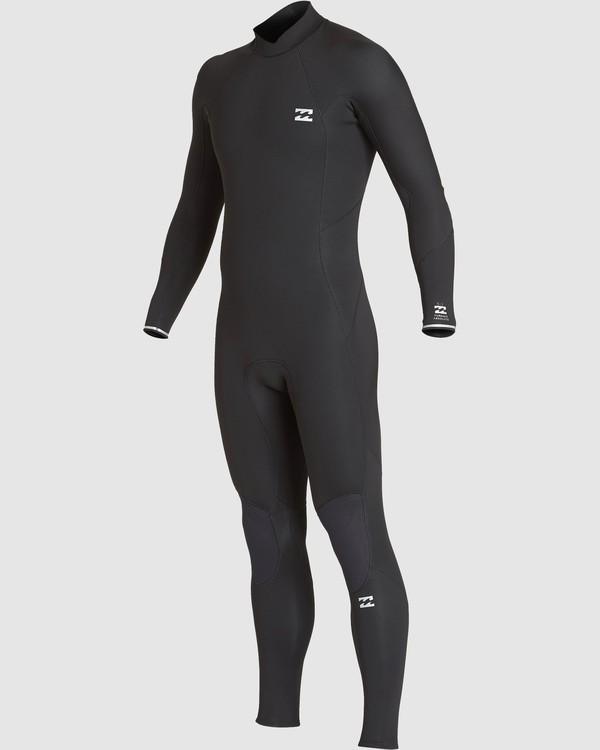 0 302 Furnace Absolute Back Zip Gbs Ls Fullsuit Black 9707810 Billabong