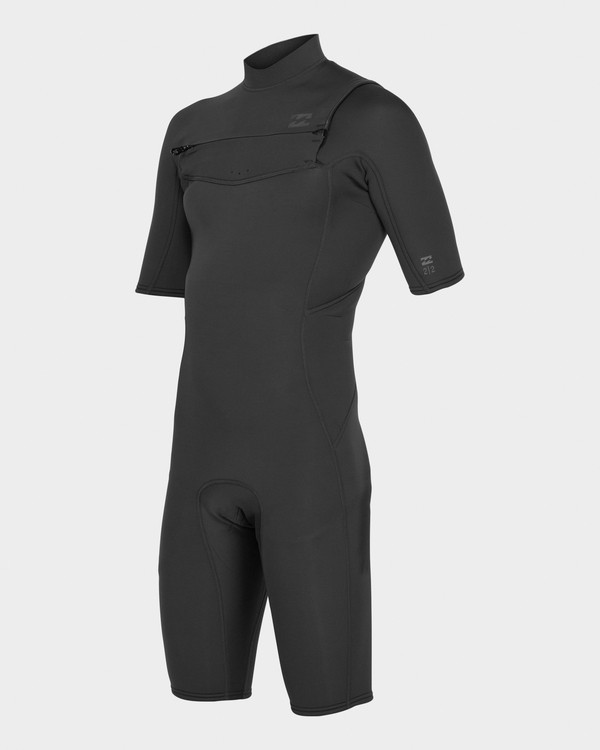 0 Absolute 202 Chest Zip Spring Suit Black 9781415 Billabong