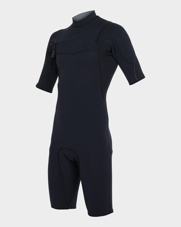 0 Pro Series 202 Chest Zip Spring Suit Black 9781490 Billabong