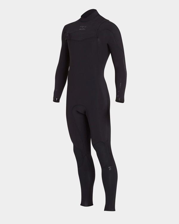 0 FURNACE CARBON 202 CHEST ZIP FULL SUIT Black 9783893 Billabong