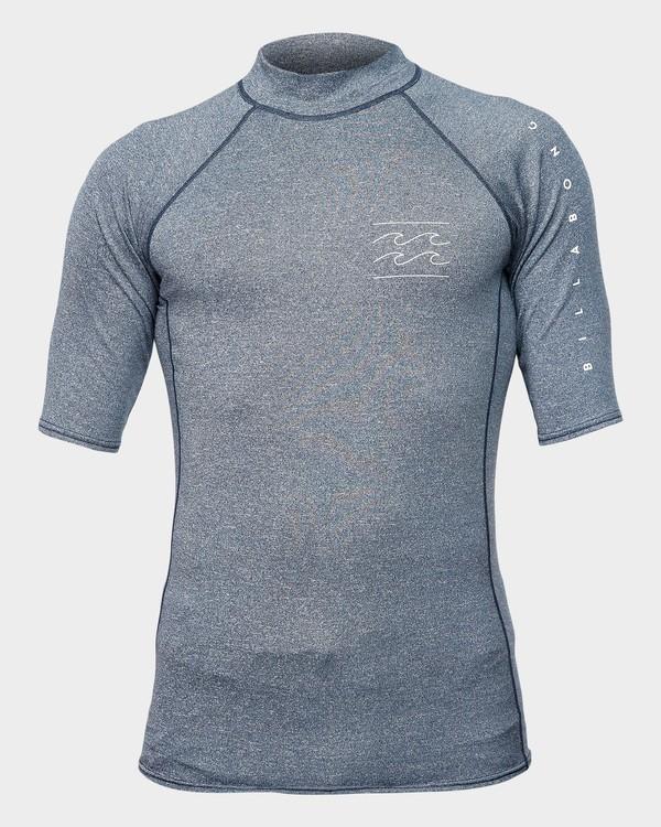 0 Unity Pf Short Sleeve Rash Vest Blue 9791505 Billabong