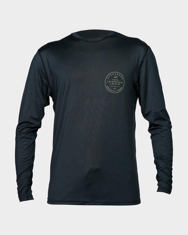 0 Wavy Davy Lf Long Sleeve Black 9792512 Billabong