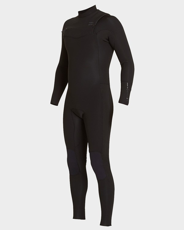 0 302 Furnace Revolution Chest Zip Full Suit Black 9793820 Billabong