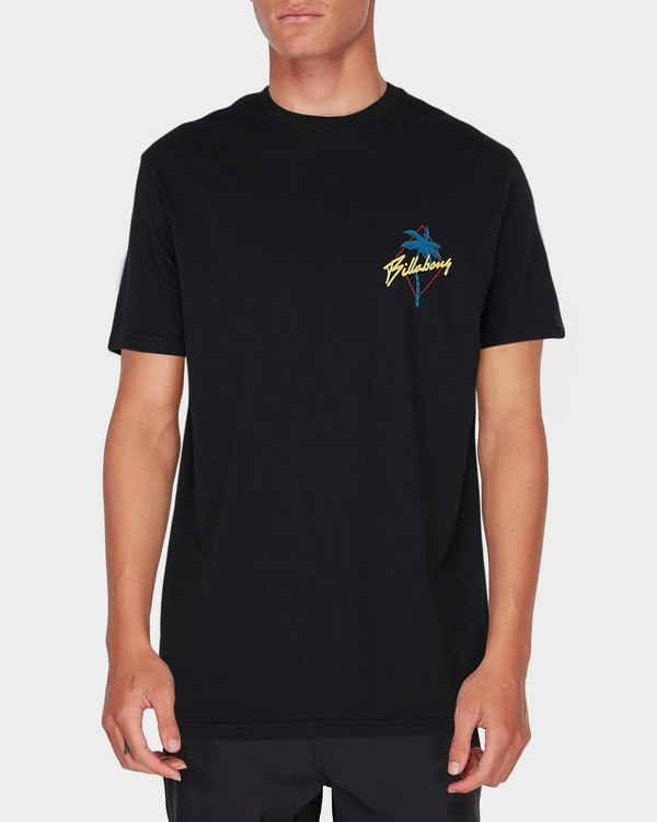 0 PALMA SHORT SLEEVE SURF SHIRT Black 9795007 Billabong