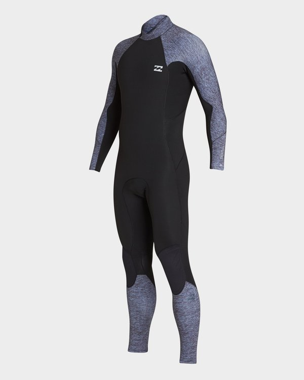 0 302 Furnace Absolute Back Zip Full Suit Grey 9795810 Billabong