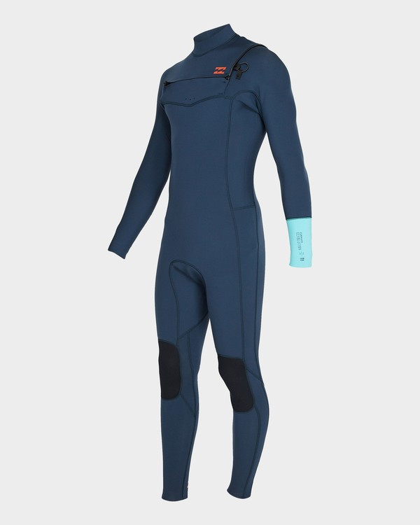 0 302 Furnace Revolution Chest Zip Full Suit Blue 9795820 Billabong