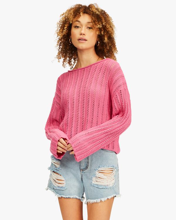 0 Good Luck  - Pullover für Frauen Rosa A3JP07BIW0 Billabong