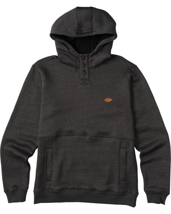 0 Boys' Hudson Pullover Hoodie Black ABBFT00100 Billabong