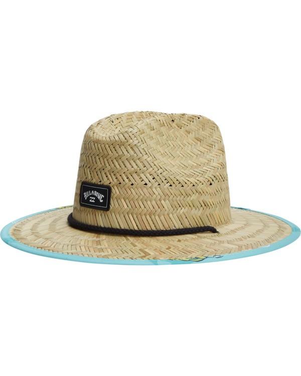 0 Tides Print Hat Blue ABBHA00103 Billabong
