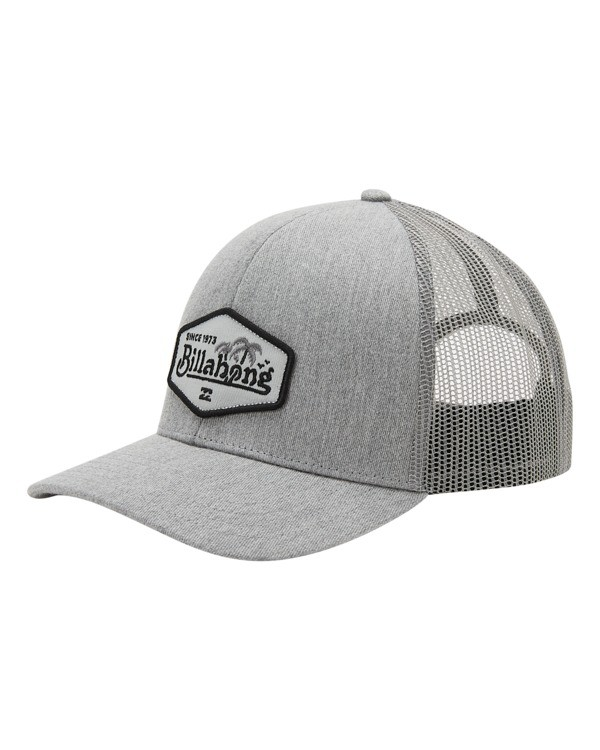 0 Boys' Walled Trucker Hat Grey ABBHA00116 Billabong