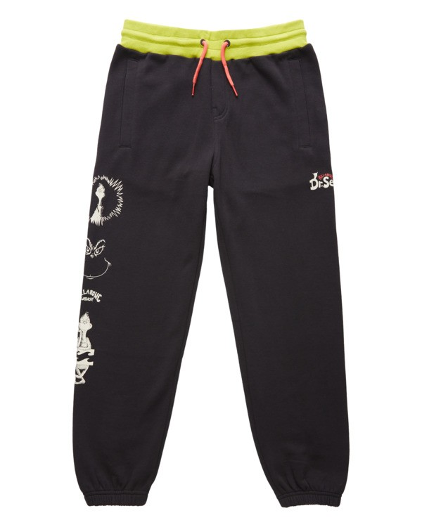 0 Boys' Grinchmas Vacation Fleece Pant Black ABBNP00102 Billabong