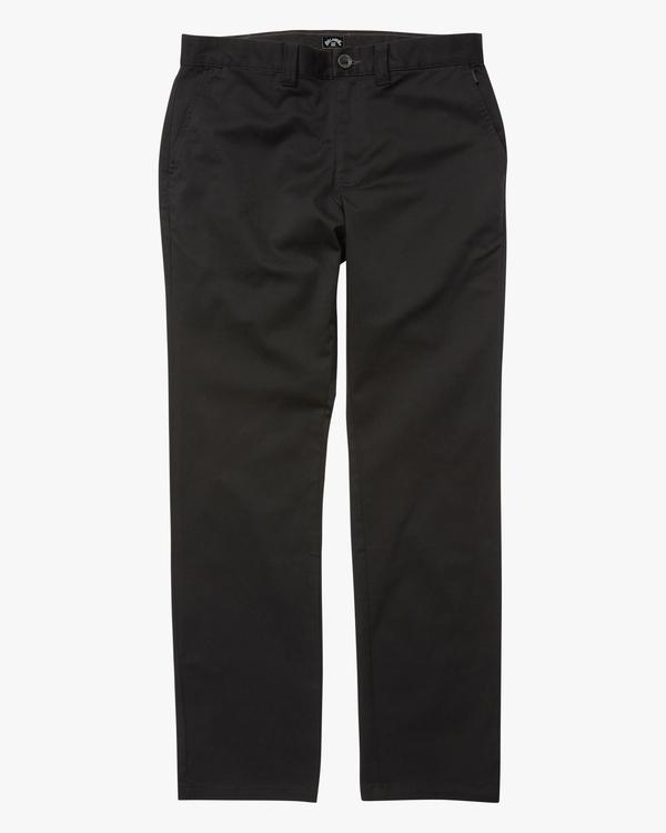 0 Boys' Carter Stretch Chino Pants  ABBNP00105 Billabong