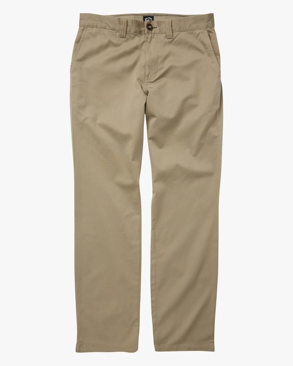 0 Boys 8-16 Carter Stretch Chino Pants Grey ABBNP00105 Billabong