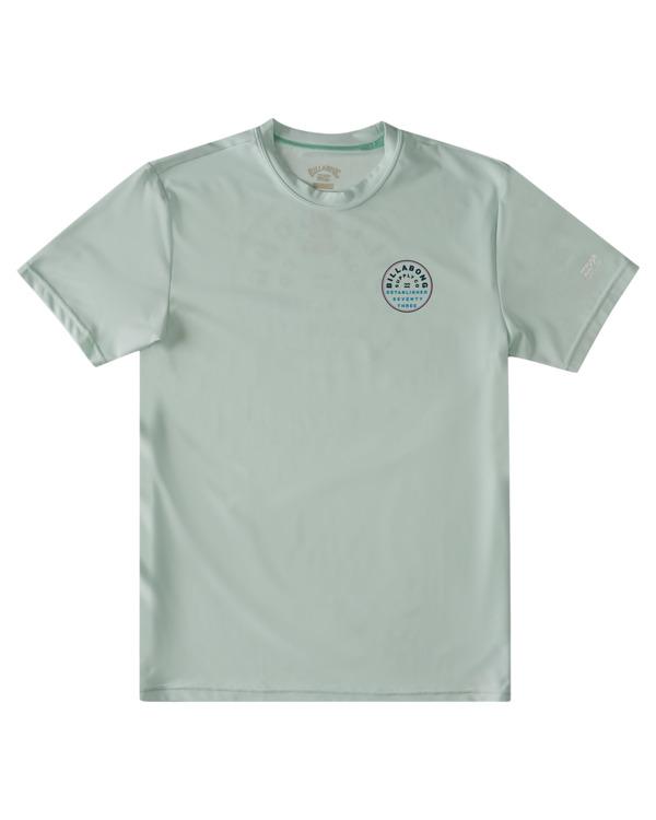 0 Boys' Roto Loose Fit Short Sleeve Rashguard Multicolor ABBWR00103 Billabong
