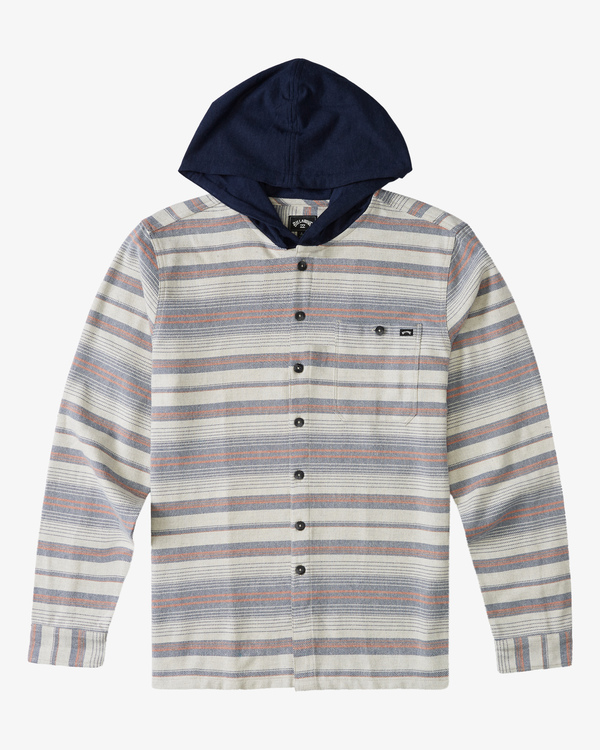 0 Boy's Baja Flannel Shirt Beige ABBWT00102 Billabong