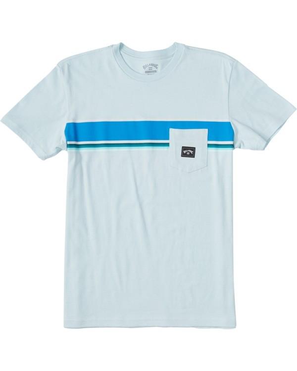 0 Boys' Spinner Pocket T-Shirt Blue ABBZT00110 Billabong