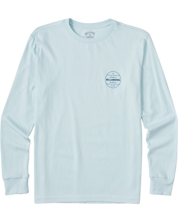 0 Boys' Rotor Long Sleeve T-Shirt Blue ABBZT00112 Billabong