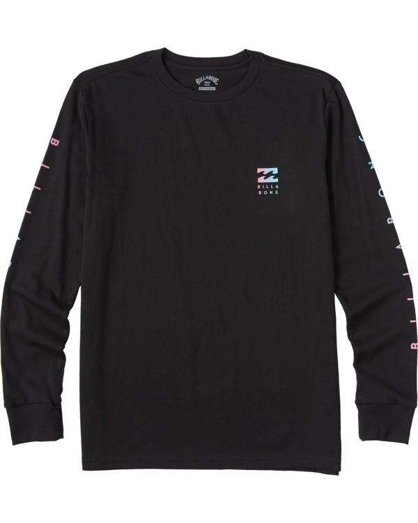 0 Boys' Unity Long Sleeve T-Shirt Black ABBZT00113 Billabong