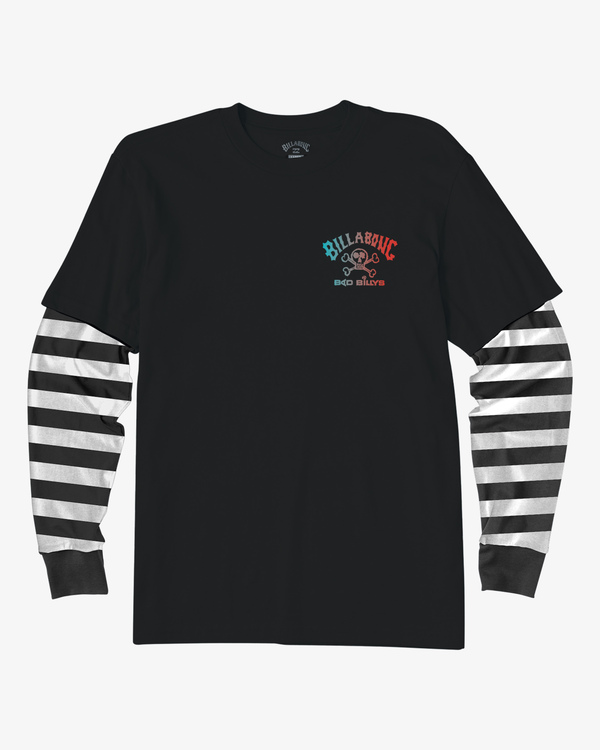 0 Boy's Maze TwoFer Long Sleeve T-Shirt  ABBZT00121 Billabong