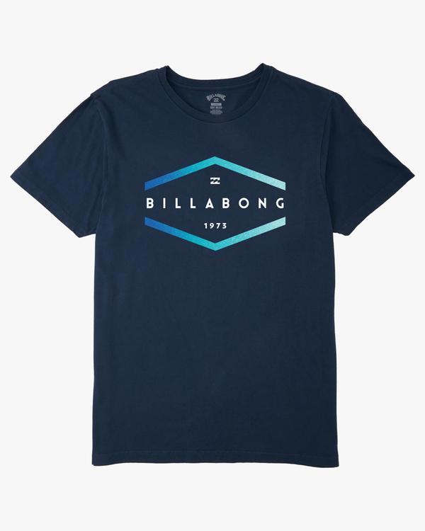 0 Boys' Entry Short Sleeve T-Shirt Blue ABBZT00129 Billabong