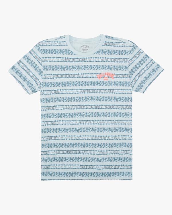 0 Boys' Native Stripe Short Sleeve T-Shirt  ABBZT00133 Billabong