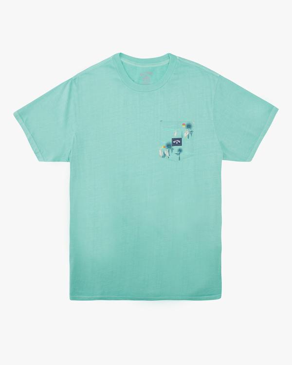 0 Boys' Team Pocket T-Shirt Black ABBZT00137 Billabong