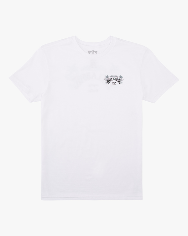 0 Boys' Archfill Short Sleeve T-Shirt White ABBZT00158 Billabong