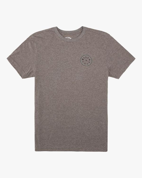 0 Boys' Rotor Short Sleeve T-Shirt Green ABBZT00159 Billabong