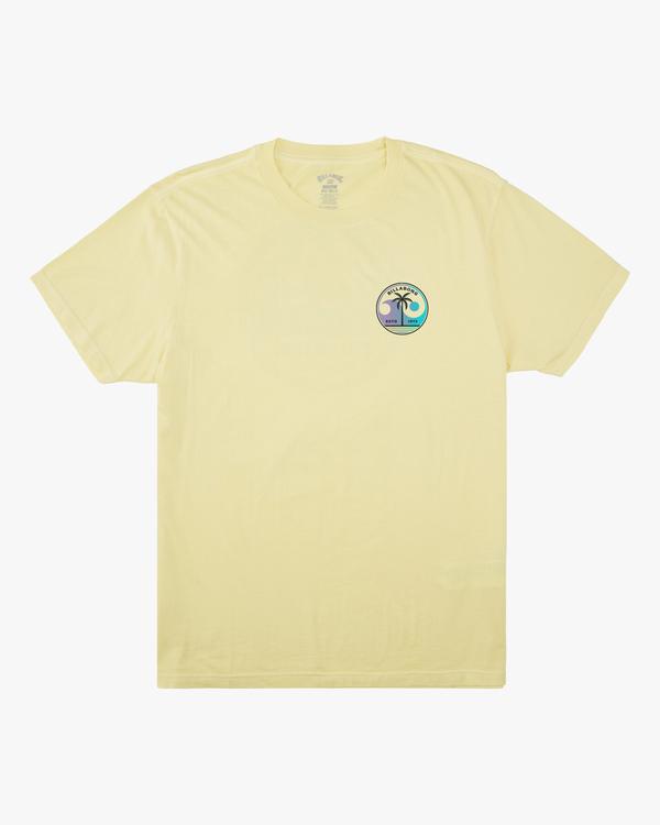 0 Boys' Yin And Wave Short Sleeve T-Shirt Yellow ABBZT00163 Billabong