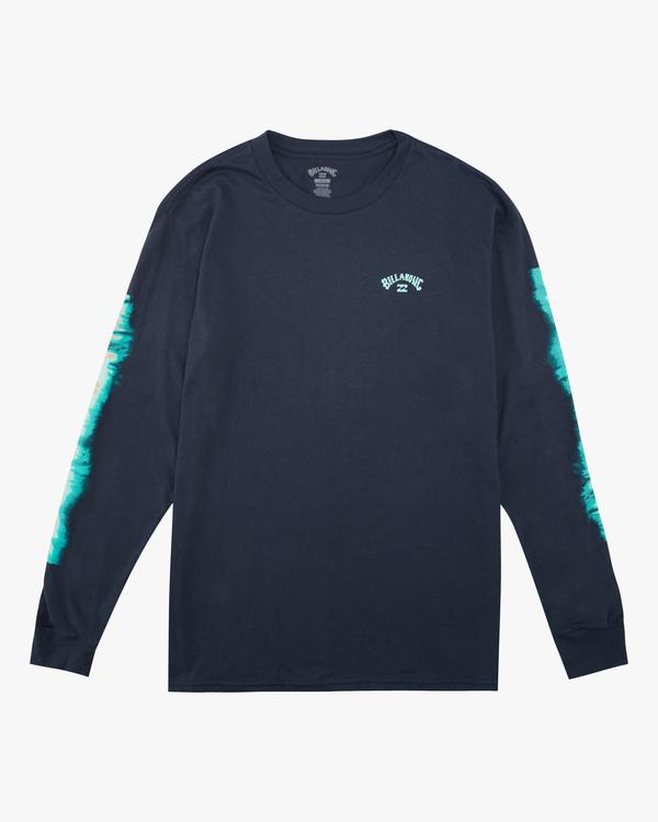 0 Boys' Sleeves Long Sleeve T-Shirt Blue ABBZT00167 Billabong