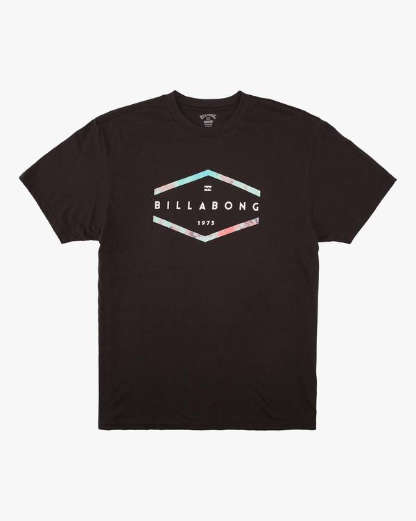 0 Boys' Entry Short Sleeve T-Shirt Black ABBZT00168 Billabong