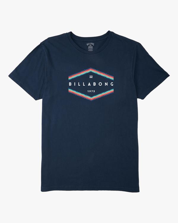 0 Boys' Entry Short Sleeve T-Shirt Blue ABBZT00168 Billabong