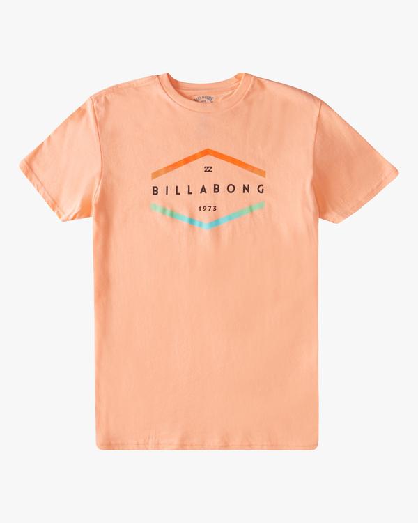 0 Boys' Entry Short Sleeve T-Shirt Black ABBZT00177 Billabong