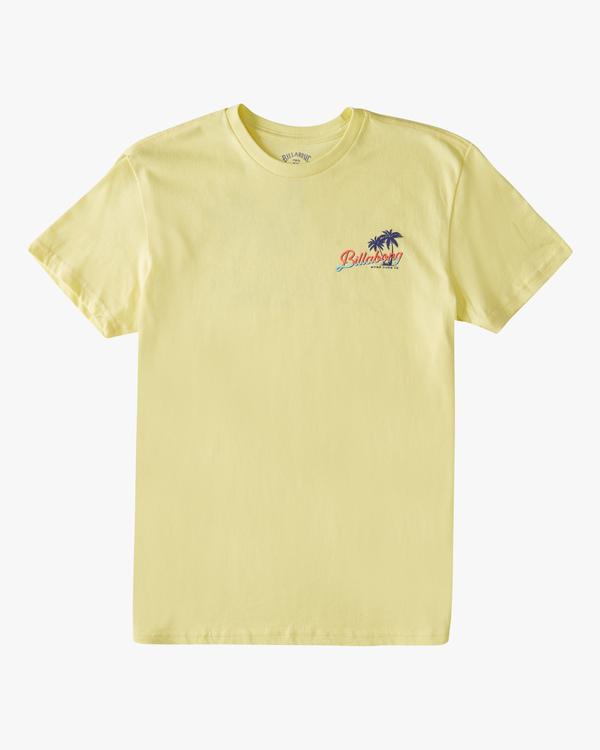 0 Boys' Surf Tour Short Sleeve T-Shirt Yellow ABBZT00183 Billabong
