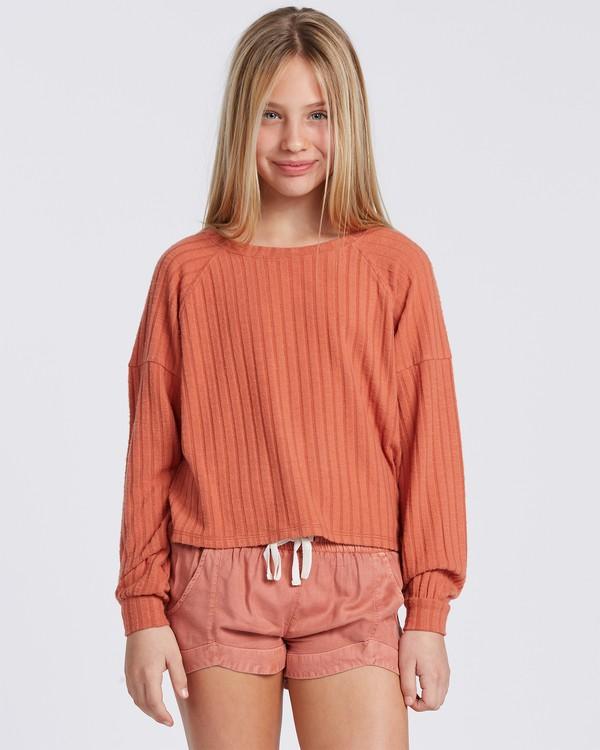 0 Cozy Forever Sweatshirt Yellow ABGFT00107 Billabong