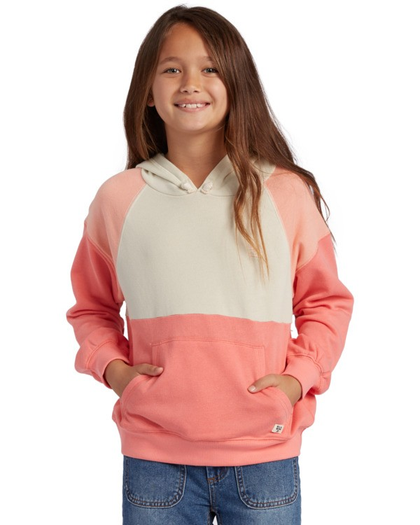 0 Girl's Coral Dreams Pullover Sweatshirt Multicolor ABGFT00120 Billabong