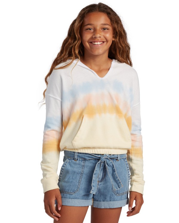 0 Girl's Cali Days Pullover Sweatshirt  ABGFT00122 Billabong