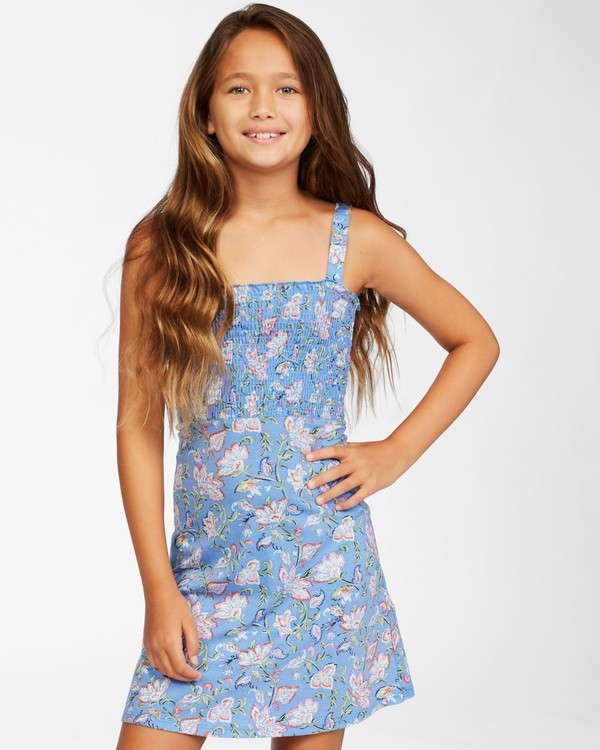 0 Girls' Summer Darlin Knit Dress Purple ABGKD00111 Billabong