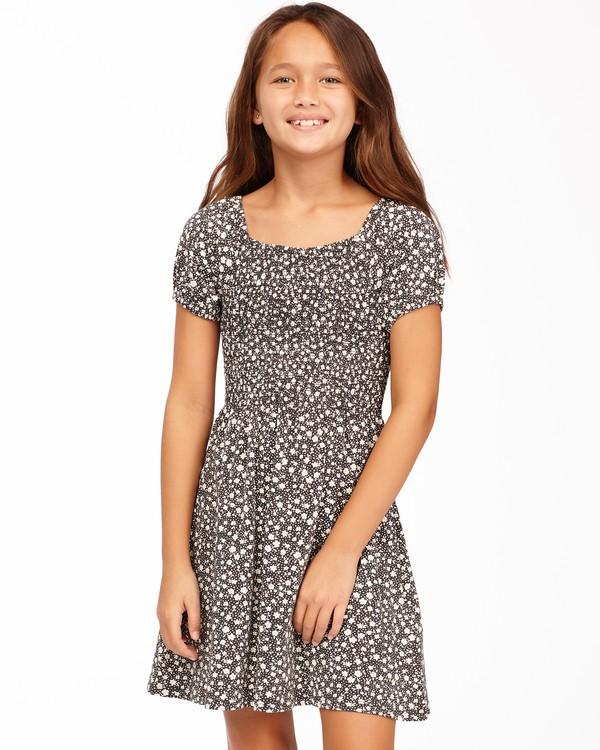0 Girls' Beach Love Knit Dress Black ABGKD00118 Billabong