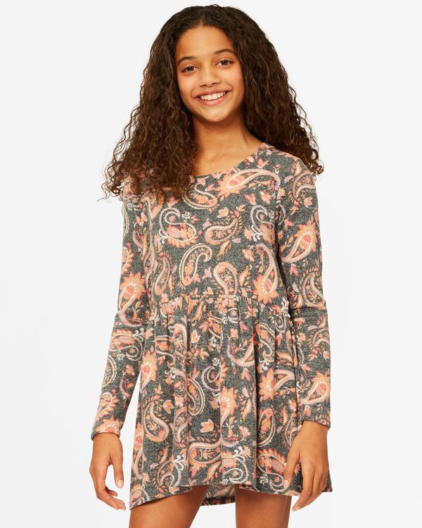 0 Girls' Ur A Doll Dress Black ABGKD00124 Billabong