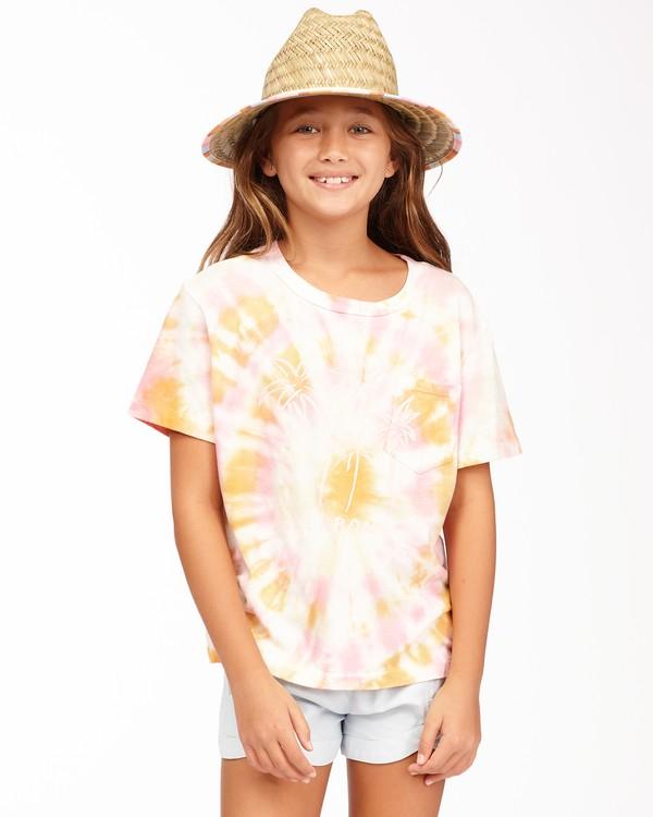 0 Girls' Too Cool T-Shirt Grey ABGKT00125 Billabong