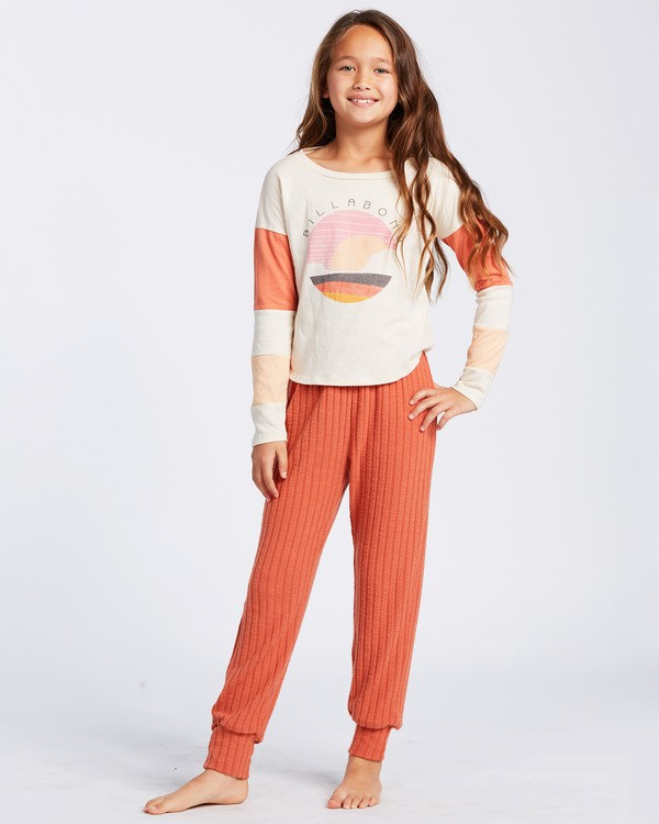0 Easy Loungin Knit Jogger Pants Yellow ABGNP00101 Billabong