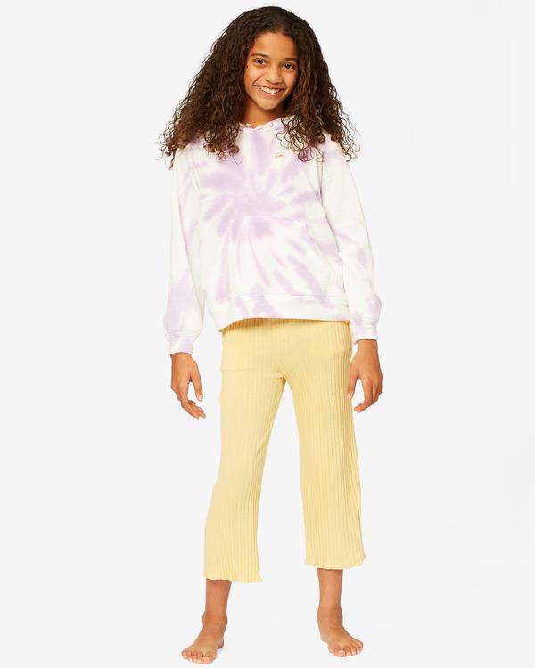 0 Girls' I'm Set High-Waisted Pants Yellow ABGNP00115 Billabong